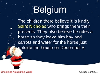 christmas around the world powerpoint by creations by lackert tpt