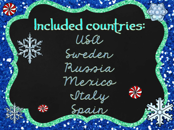 Christmas Around the World Powerpoint- BUNDLE!