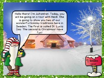 Christmas Around the World Powerpoint- SWEDEN!