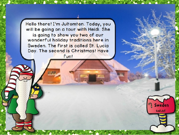 Christmas Around The World Powerpoint Sweden