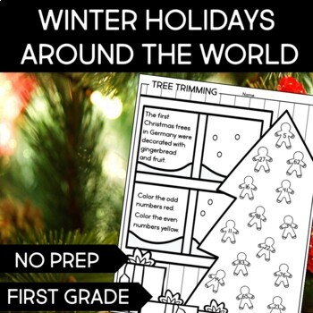 Christmas Around the World Printable Activities