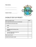 Christmas Around the World Project Checklist *EDITABLE*
