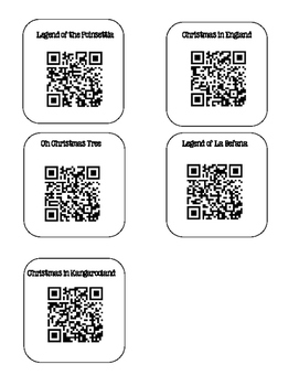 Christmas Around the World QR