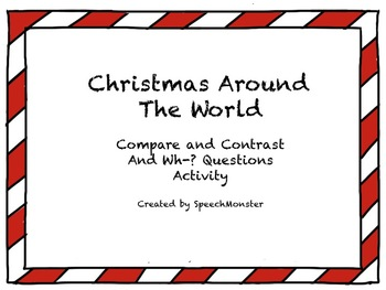 Christmas Around the World Quick Comprehension & Compare/Contrast Activity