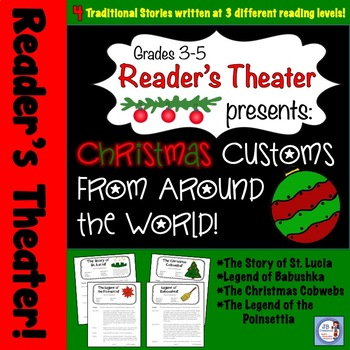 Christmas Around the World Reader's Theater Set (Differentiated scripts!)