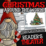 Christmas Around the World Reader's Theater ☆ with Christmas Song & Lyrics Sheet