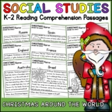 Christmas Around the World Reading Comprehension Passages (K-2) - Social Studies