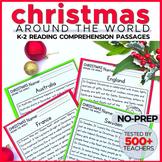 Christmas Around the World Reading Comprehension K-2