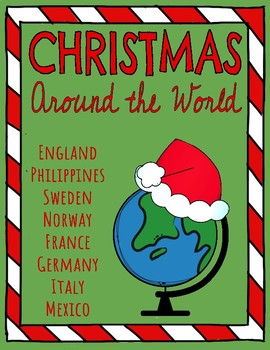 Christmas Around the World Reading Comprehension Passages & Questions BUNDLE