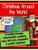 Christmas Around the World Reading Comprehension & Questions Pack
