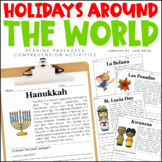 Holidays Around the World Reading Passages