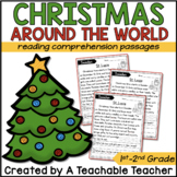 Christmas Around the World Reading Passages | Christmas Ar