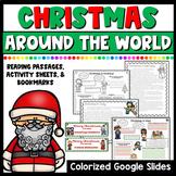 Christmas Around the World Reading Passages & Activities | Google Slides & Print
