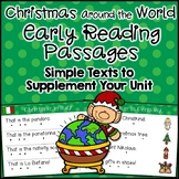 Christmas Around the World Reading Passages Kindergarten