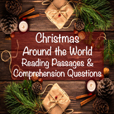 Christmas Around the World Reading Comprehension Passages