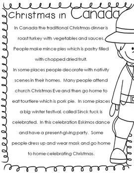 Christmas Around the World Reading, Writing, and Craft
