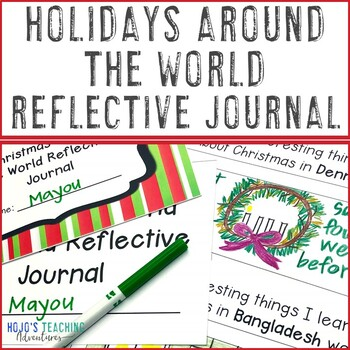 Christmas Around the World Journals   Christmas Around the World Unit