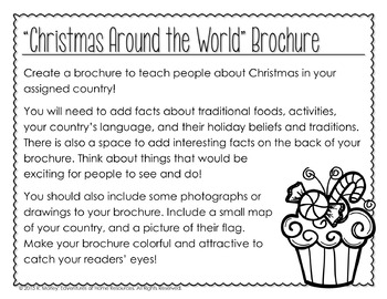 Christmas Around the World Research Brochure
