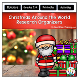 Christmas Around the World Organizers for Guided Research