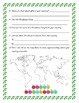 Christmas Around the World Research Sheet