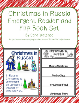 Christmas Around the World: Russia Emergent Easy Reader an