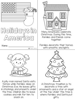 Christmas Around the World FREE SAMPLE- America