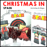 Christmas Around the World SPAIN Maps Flags Info Cards and Recipe