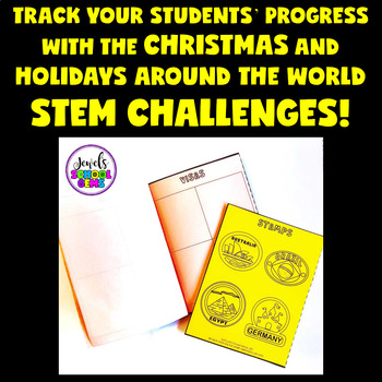 FREE Christmas and Holidays Around the World STEM Challenge Passport