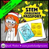 Christmas Around the World STEM Challenge Passport FREE