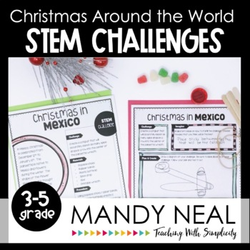 Christmas Around the World STEM Challenges