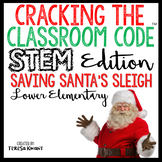 Christmas Around the World STEM Escape Room Cracking the Classroom Code™