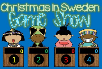 Christmas Around the World - SWEDEN Jeopardy Style Game Show