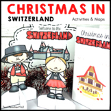 Christmas Around the World SWITZERLAND Maps Flags Info Car
