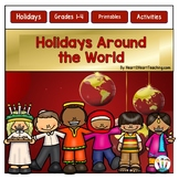 Christmas Activities Bundle: Learn About 7 Countries & Holidays Around the World