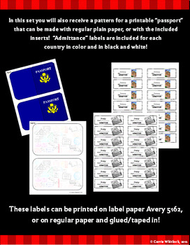 Christmas Around the World Set 2 - Italy, Germany, and Australia w/Passports