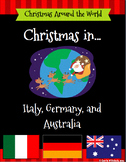Christmas Around the World Set 2 - Italy, Germany, and Australia Bundle