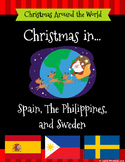 Christmas Around the World Set 4 - Spain, The Philippines, and Sweden Bundle