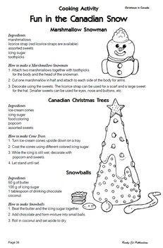 Christmas Around the World: Set 5 - Christmas in Canada