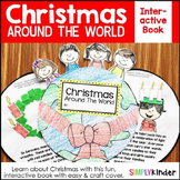 Christmas Around the World Interactive Book for Kindergarten and First Grade