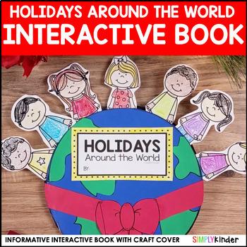 Christmas Around the World Interactive Book for Kindergart