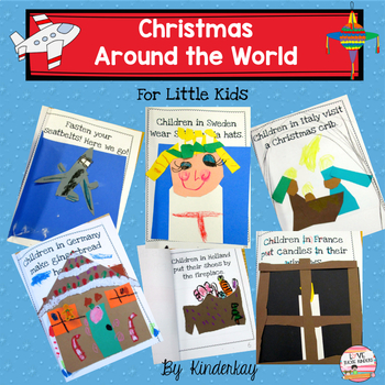 Christmas Around the World Let's Make a Book