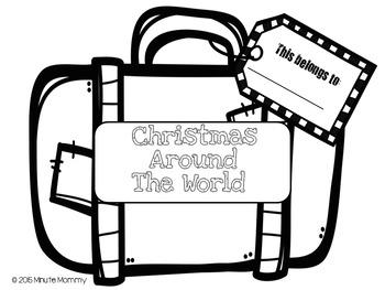 Christmas Around the World {Suitcase}