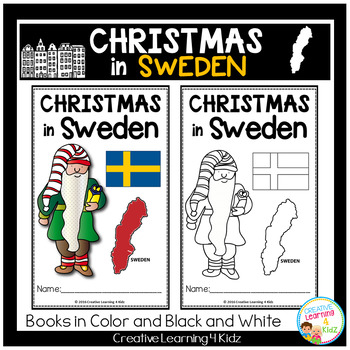 Christmas Around the World: Sweden Book