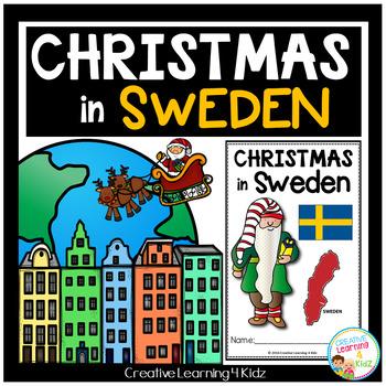 Christmas Around the World:Sweden Book