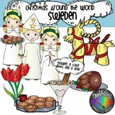 Christmas Around the World - Sweden Clipart