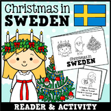 Christmas Around the World - Sweden Differentiated Mini Book
