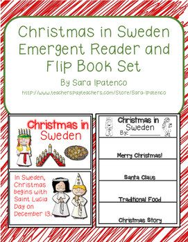 Christmas Around the World: Sweden Emergent Easy Reader and Flip Book