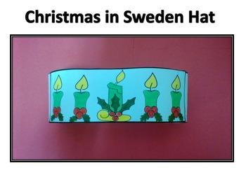 Christmas Around the World Sweden Hat