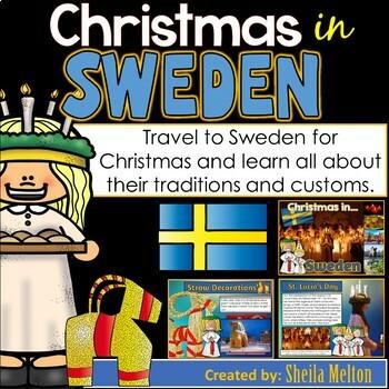 Christmas Around the World PowerPoint: Sweden