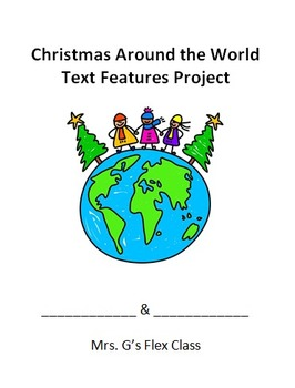Christmas Around the World Text Features Project